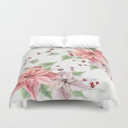 Poinsettia 2 Duvet Cover