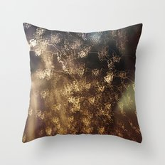 Night rain Throw Pillow