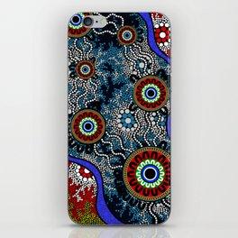 Aboriginal Art – Camping iPhone Skin