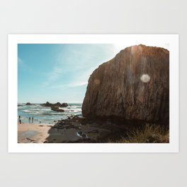 Seal Rock, Oregon Art Print