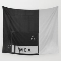 denver Wall Tapestries featuring MCA, Denver by HMS James