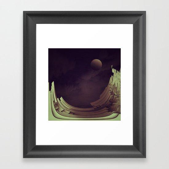 PLATES II Framed Art Print