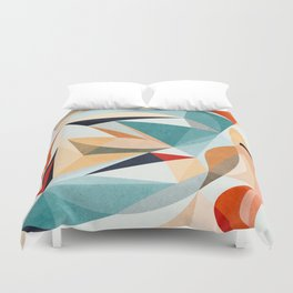 Time for Everything Duvet Cover