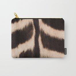 Zebra - zebra stripes -zebra skin - genuine - beautiful - #society6 #buyart Carry-All Pouch
