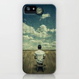 Time pressure iPhone Case