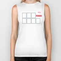 periodic table Biker Tanks featuring The Big (Bang) Periodic Table by Boots