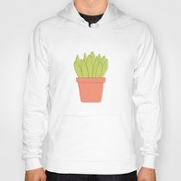plant Hoodies featuring Plant by Yellow Chair Design