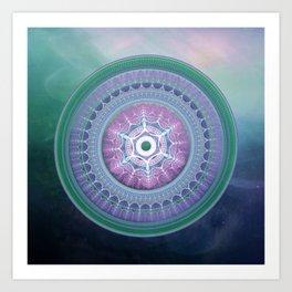 Breakthrough - Mandala Art Print