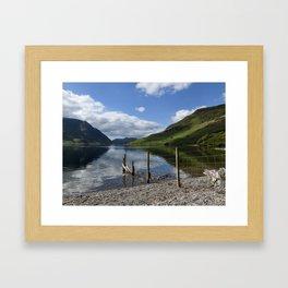 Crummock Water Framed Art Print