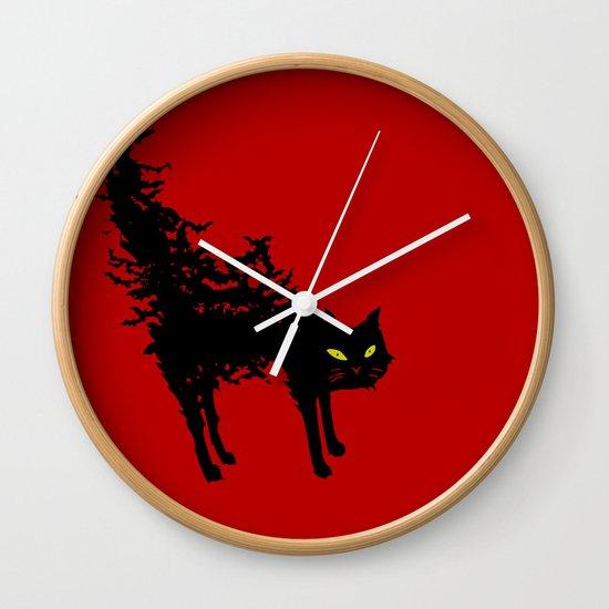 Freaking Meow Wall Clock