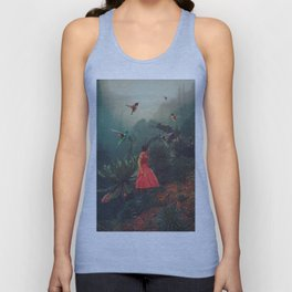 20 Seconds before the Rain Unisex Tank Top