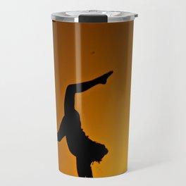 Desert Silouette Travel Mug