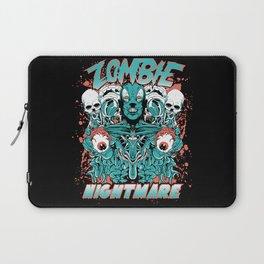 Zombie nightmare Laptop Sleeve