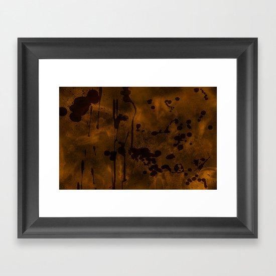 Parchment Framed Art Print
