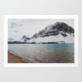 lake shore Art Print