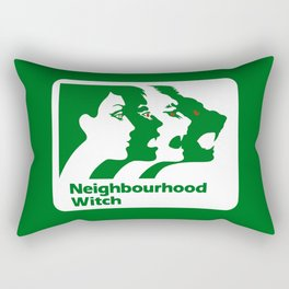 Neighbourhood Witch Rectangular Pillow