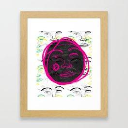Face Off (3) Framed Art Print