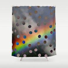 Rainblow Shower Curtain