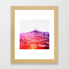 Crayola Skyline Framed Art Print