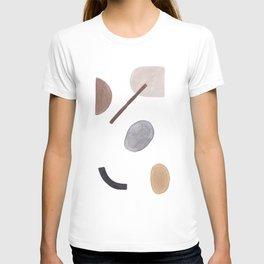Modern Minimalist art, Minimalist Print, Geometric Poster, Abstract Prints, Abstract wall art, Home T-shirt