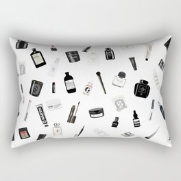 The Black & White shelf Rectangular Pillow
