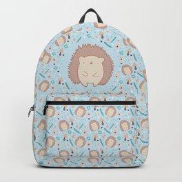 Cute hedgehogs pattern Backpack