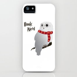 Book Nerd Hedwig iPhone Case