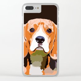 Petsy - Custom Pet Portraits Clear iPhone Case