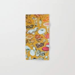 Mushrooms Hand & Bath Towel