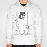 apollonia Hoodies featuring asc 595 - Les amatrices II (Sketchwork) by From Apollonia with Love