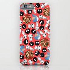 Ghibli Pattern Slim Case iPhone 6s
