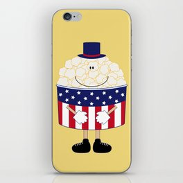 Mr.Popcorn iPhone Skin