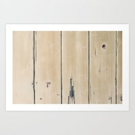 Old Painted Wall Art Print