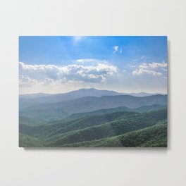 Amazing Blue-Ridge Metal Print