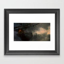 Flying Dutchman Framed Art Print