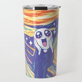 Kawaii Scream Travel Mug