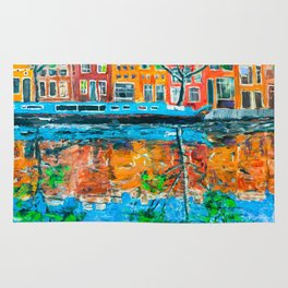Reflections of Amsterdam Rug