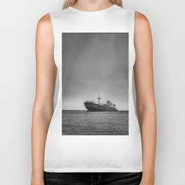 Shipwrecked in Lanzarote Biker Tank