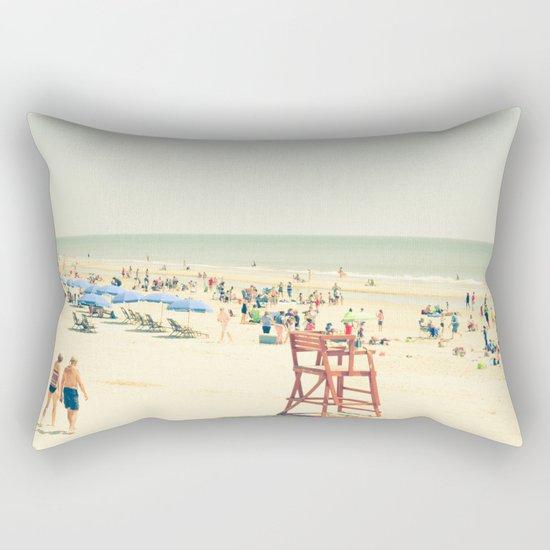Beach People Rectangular Pillow