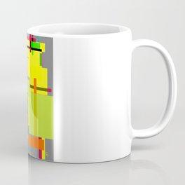 Lines and Sqaures Coffee Mug