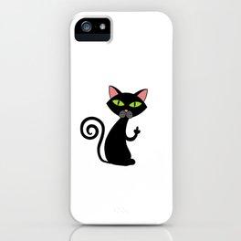 "Happy Halloween Shirt For October November Cat Animals""I Do What I Want"" T-shirt Design Creepy iPhone Case"