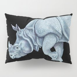 Indian Rhinoceros Pillow Sham