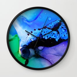 By the pool Wall Clock