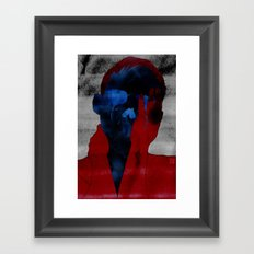 Tears From Bone Framed Art Print
