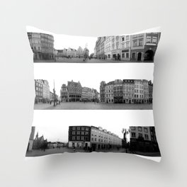 Wroclaw - The Market Square Throw Pillow
