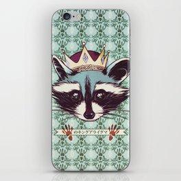 King Racoon · Ver.2 iPhone Skin