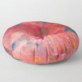 Abstract No. 683 Floor Pillow