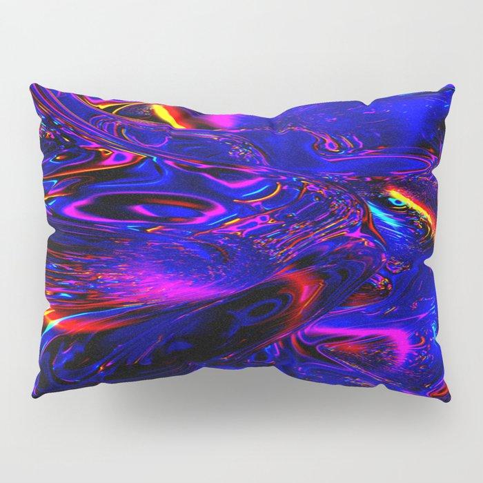 Psych Waves Pillow Sham
