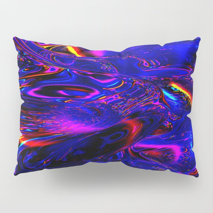 Psych Waves Pillow Sham