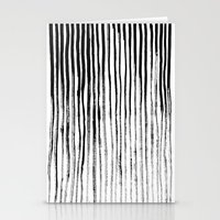 stripe Stationery Cards featuring Stripe by Jack Newbury